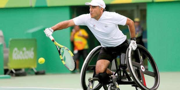 Stéphane Houdet aux Jeux paralympiques