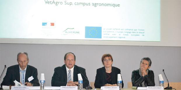 Présentation du projet par Stéphane Martinot, directeur général de VetAgro Sup