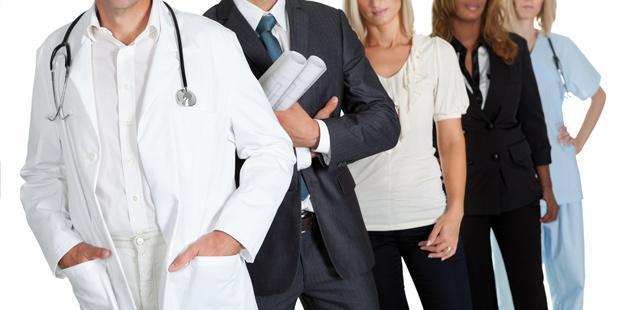 photo abstraite représentant des personnes sur le sujet des professions réglementées