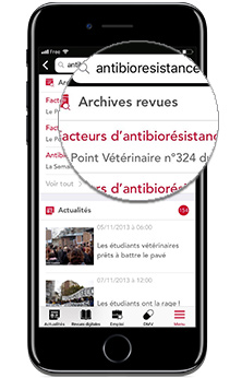 application Le pointvétérinaire.fr