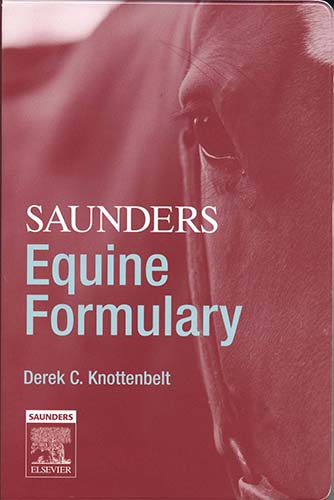 Saunders equine formulary 2006