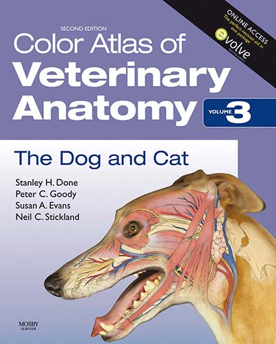 Color Atlas of Veterinary Anatomy, the Dog and Cat (vol.3)