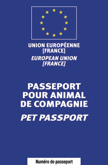 Pack de 10 passeports de 56 pages (commande de 1 à 4 packs)